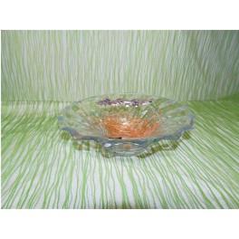 Centro de mesa de cristal de bohemia modelo picadelli