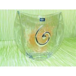 Florero de cristal de bohemia modelo orbit 240 ml