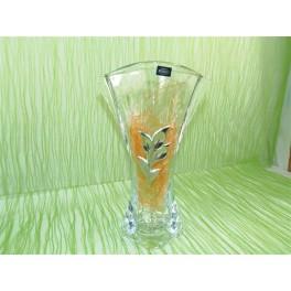 Florero de cristal de bohemia modelo orbit de 310 cm