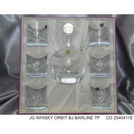 Juego Whisky Orbit Barline
